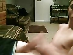 Self suck & facial on webcam
