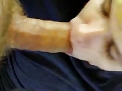 Drunk gay boy sucks straight cock